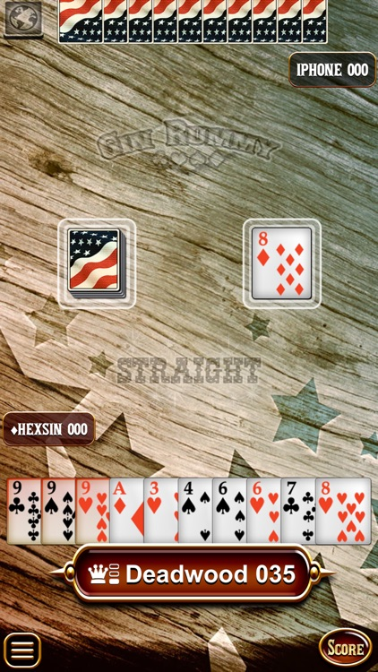 Gin Rummy HD - The Best Online Card Game! screenshot-3