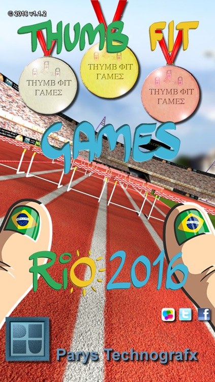 Thumb Fit Games ( Rio edition 2016 ) screenshot-4