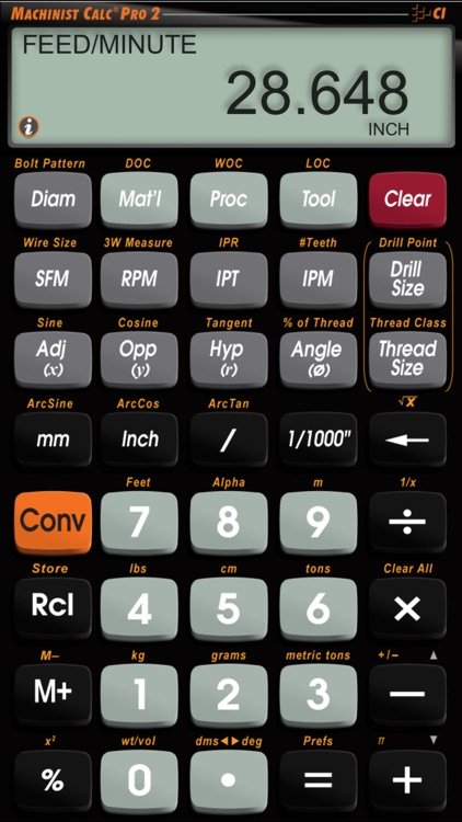Machinist Calc Pro 2 -- Advanced Machining Math Calculator with Materials Reference Tool screenshot-4