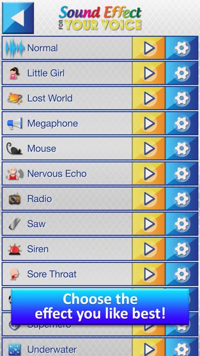 Efectos de Sonido para tu Voz - Transformar Grabaciones dentro Gracioso Sonidos con Modificador de VozCaptura de pantalla de3