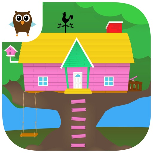 Penny & Puppy's Treehouse Adventure - Clean, Dress up & Pet care