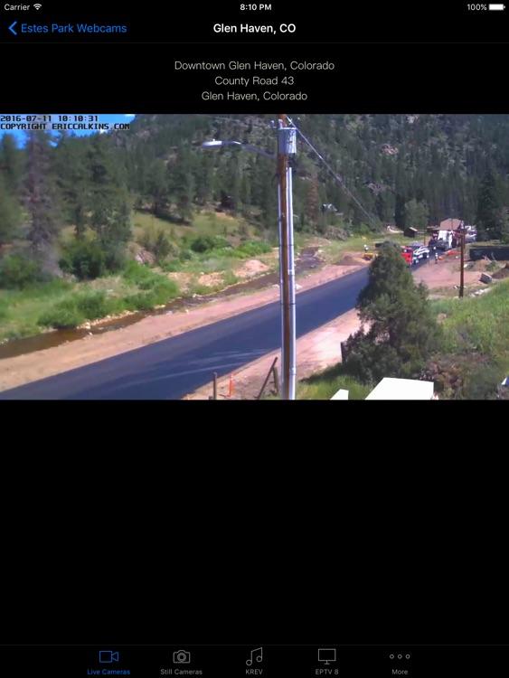 Estes Park Webcams for iPad screenshot-4