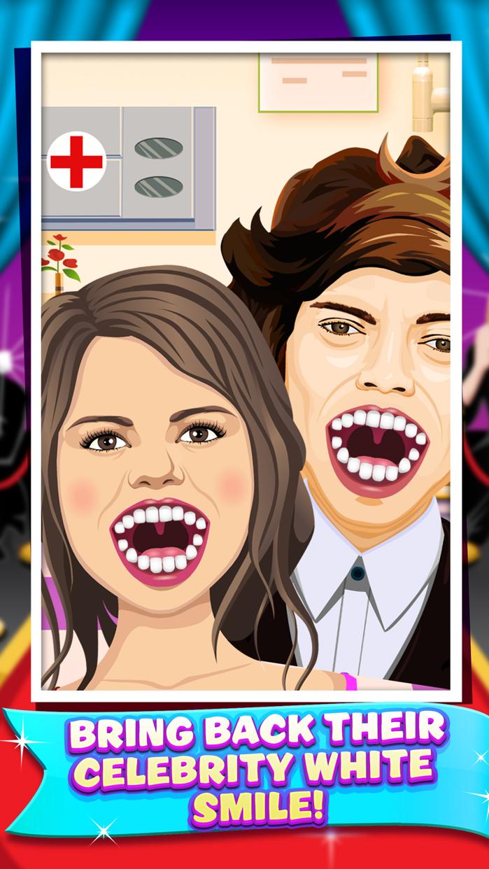 Celebrity Dentist Doctor Salon Kids Game Free Screenshot