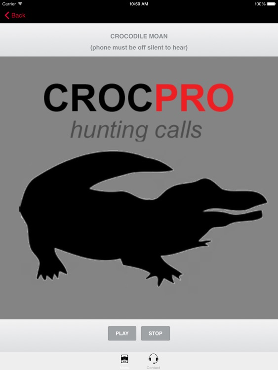 REAL Crocodile Calls & Crocodile Sounds! (ad free) BLUETOOTH COMPATIBLE screenshot-0