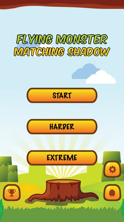 Flying Monster: Matching Shadow