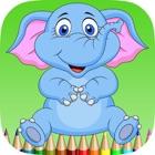 слон раскраски для детей: научиться рисовать слонов и мамонтов icon