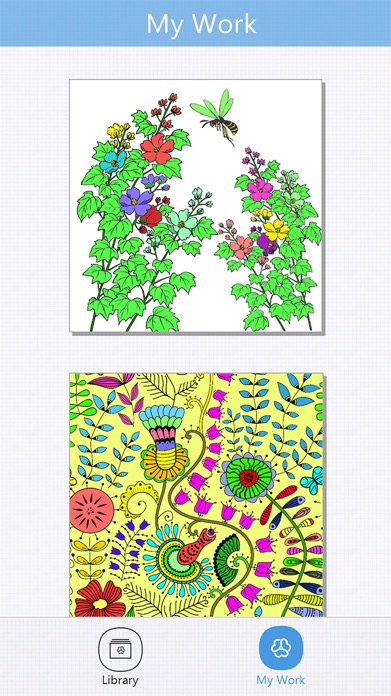 Secret Coloring Book - Free Anxiety Stress Relief & Color Therapy Pages for Adult Screenshot