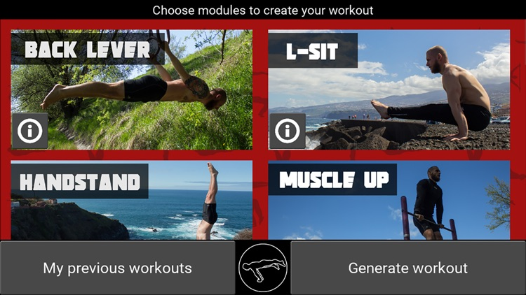TrainingPal - Calisthenics trainer screenshot-0