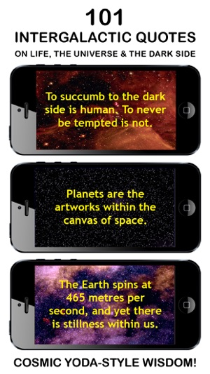 Intergalactic Wisdom Best App Of Daily Yoda Style Quotes Phrases