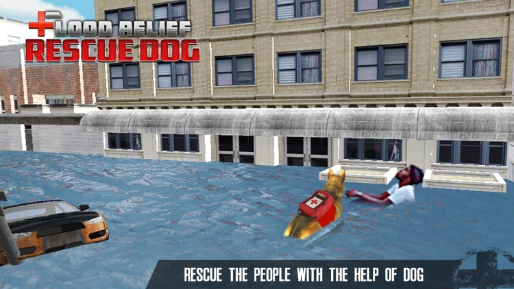 Flood Relief Rescue Dog : Save stuck people lives screenshot-4