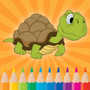 Animal Coloring Free Printable Worksheets for Kindergarten & Pre K