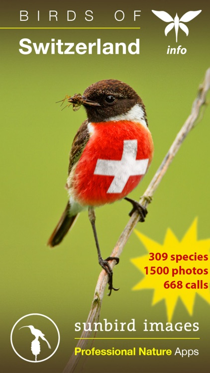 Birds of Switzerland - a field guide to identify the bird species native to Switzerland screenshot-0