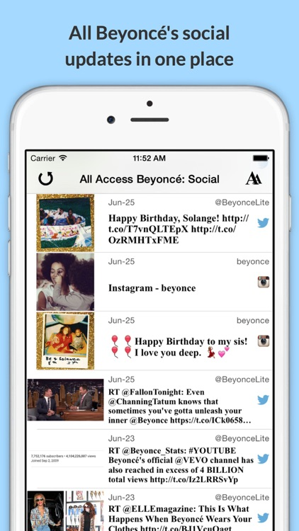 All Access: Beyoncé Edition - Music, Videos, Social, Photos, News & More! screenshot-3