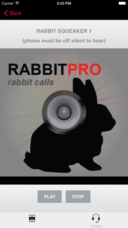 REAL Rabbit Calls & Rabbit Sounds for Hunting Calls - BLUETOOTH COMPATIBLE screenshot-0