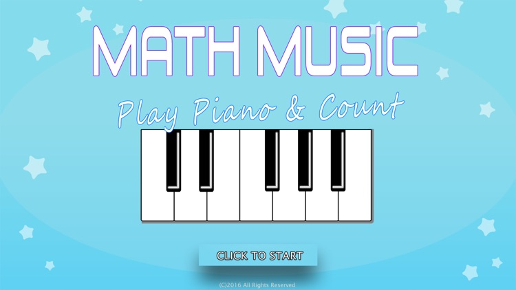 Math Music – Play Piano & Count (on TV)