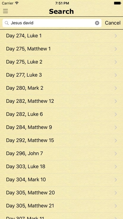 Chronological Bible in a Year - KJV Daily Reading screenshot-3