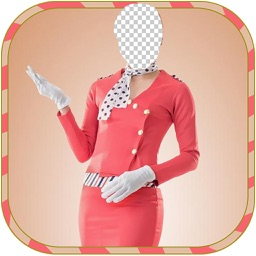 flight Girl  Body Photo montage App-Woman Body builder PHoto Montage