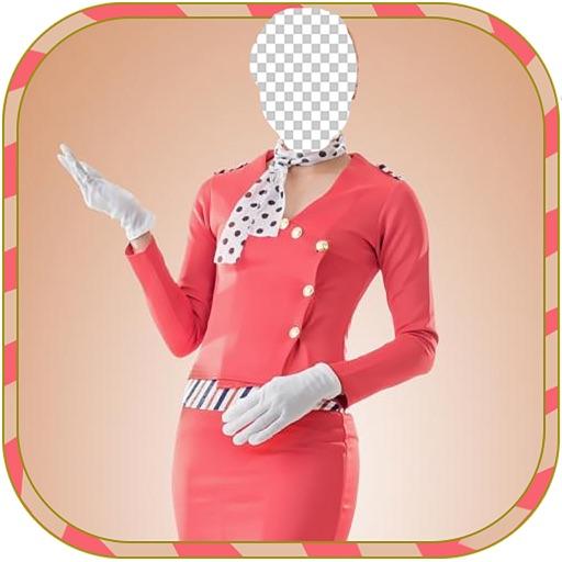 flight Girl  Body Photo montage App-Woman Body builder PHoto Montage