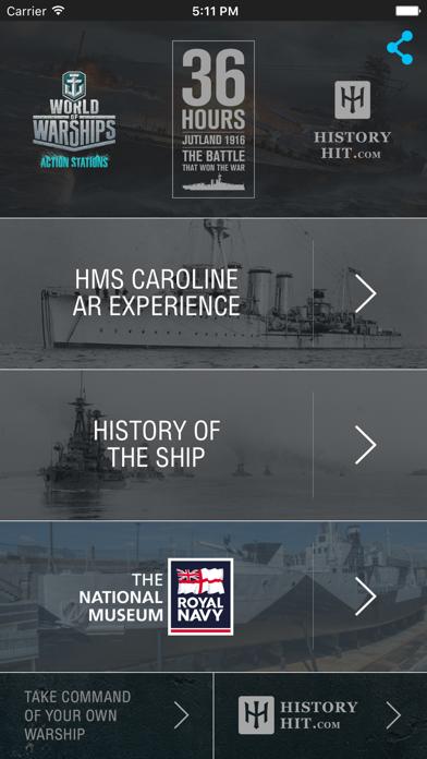HMS Caroline AR Experience - National Museum of the Royal Navyのおすすめ画像1