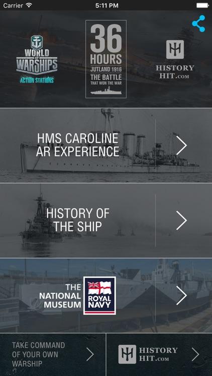 HMS Caroline AR Experience - National Museum of the Royal Navy