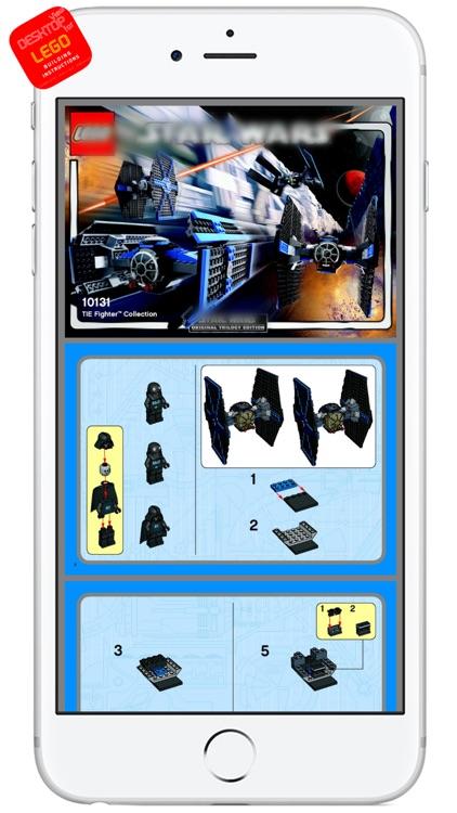 DESKTOP VIEW for LEGO BUILDING INSTRUCTIONS (Complete Lego Online Archive)  by DESKTOP PRO-SERIES CORPORATION