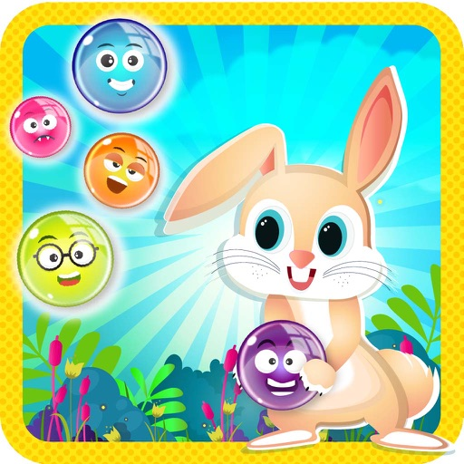 Bubble Shooter Bunny Adventure : Free Bubble Shooter Puzzle Game