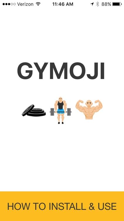 Gymoji - Bodybuilding Emoji Keyboard