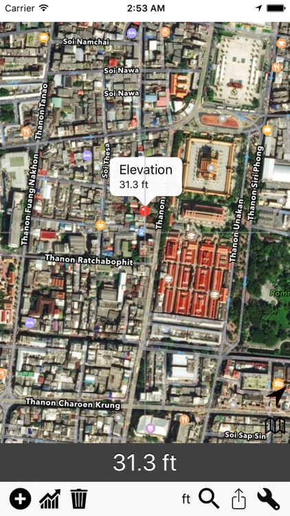 Elevation - Height above Sea Level, Altitude Map screenshot-4