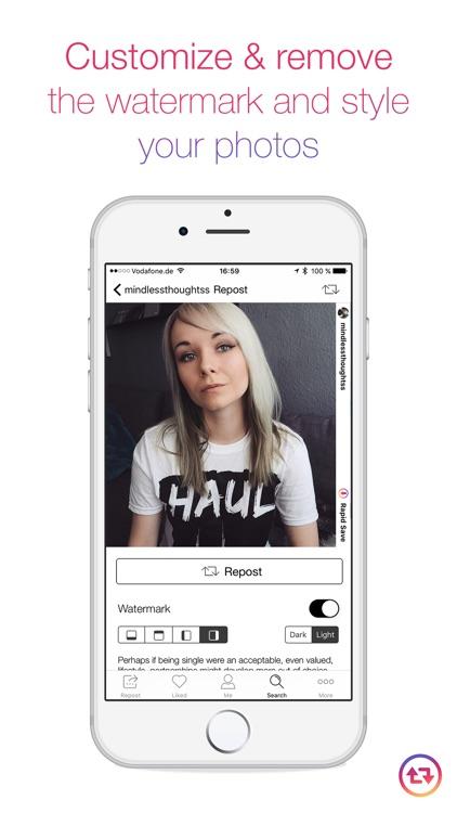 Rapid Save Reposter for Instagram - Repost Videos & Photos on Instagram screenshot-3