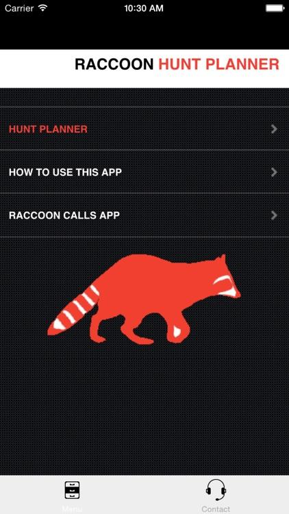 Raccoon Hunting Planner - Outdoor Hunting Simulator (Ad Free) screenshot-3