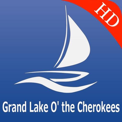 Grand lake o the Cherokees GPS nautical charts Pro