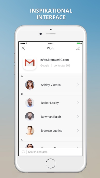 1Sync: contacts sync for Gmail, iCloud, Outlook screenshot-3