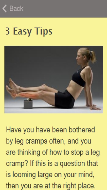 How To Get Rid Of Leg Cramps