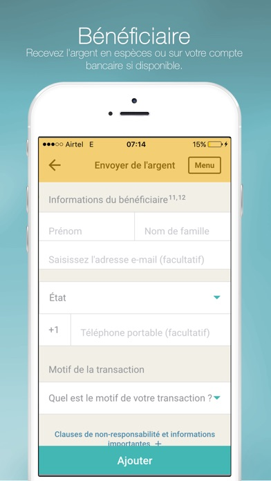 download Western Union Envoi d'argent apps 2
