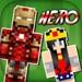 英雄皮肤 - 我的世界沙盒版皮肤编辑器,免费儿童智能手机游戏