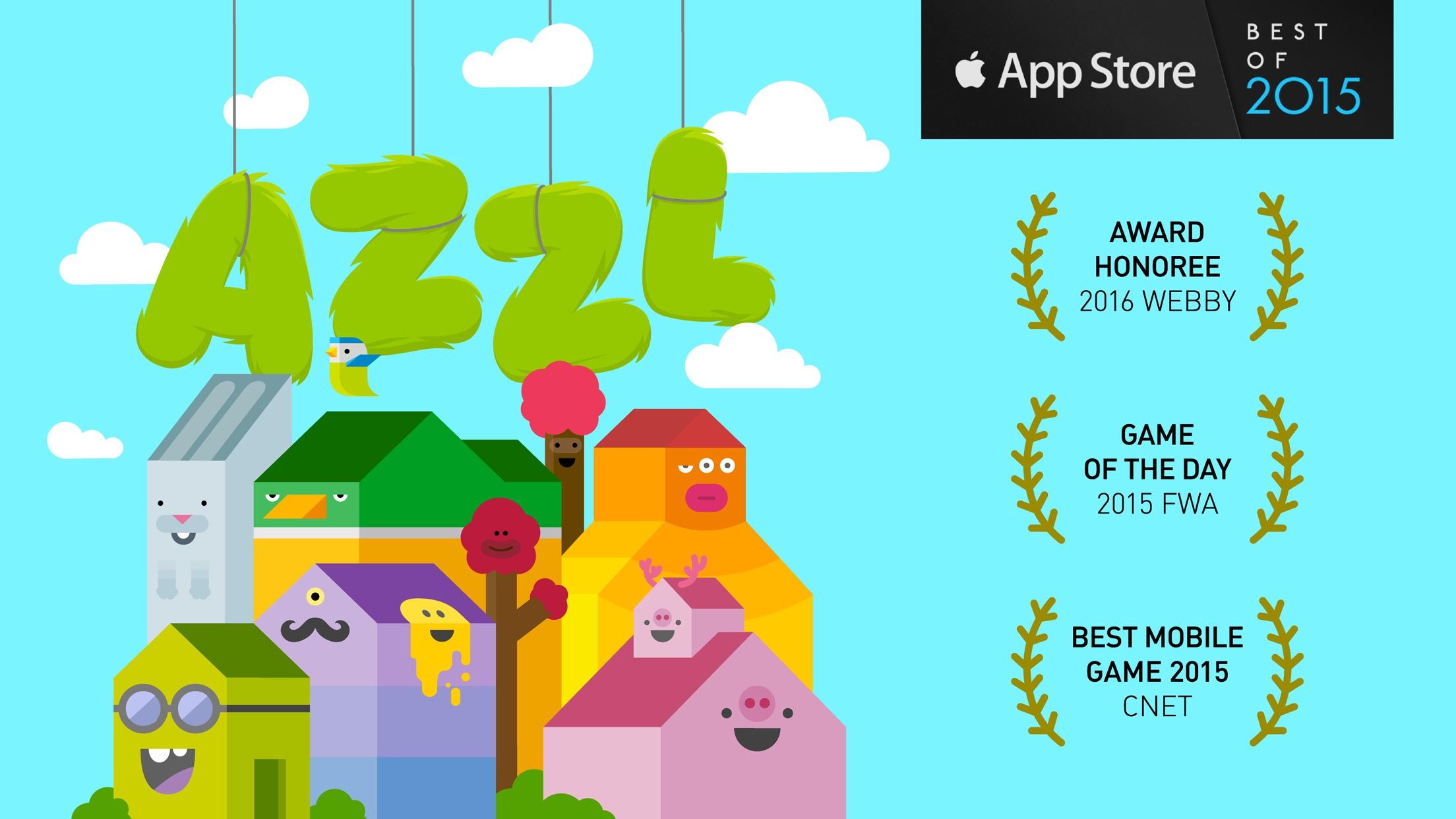 Screenshot do app AZZL
