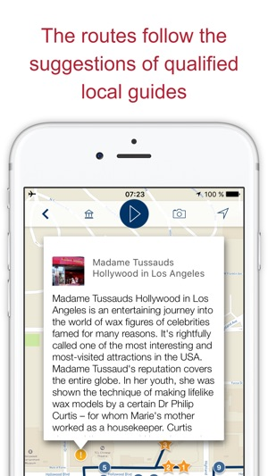 los angeles my travel guide to sights map usa on the app store