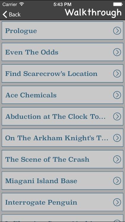 Gamer's Guide for Batman Arkham Knight