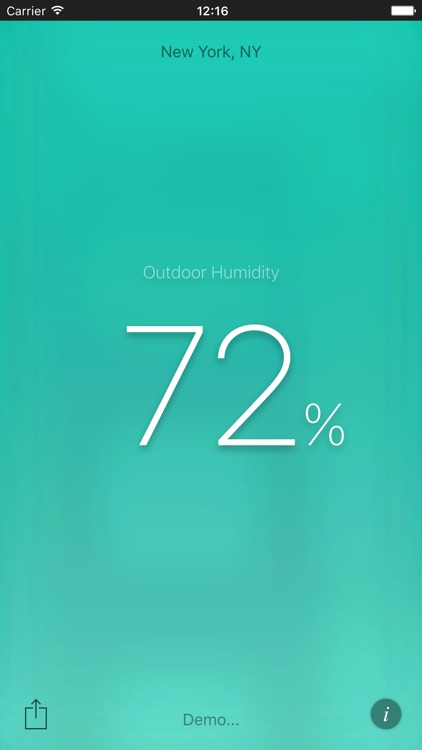 Humidity App screenshot-3