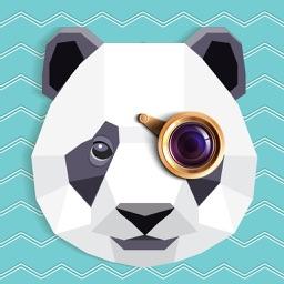 Animal face sticker - color swap lab lol