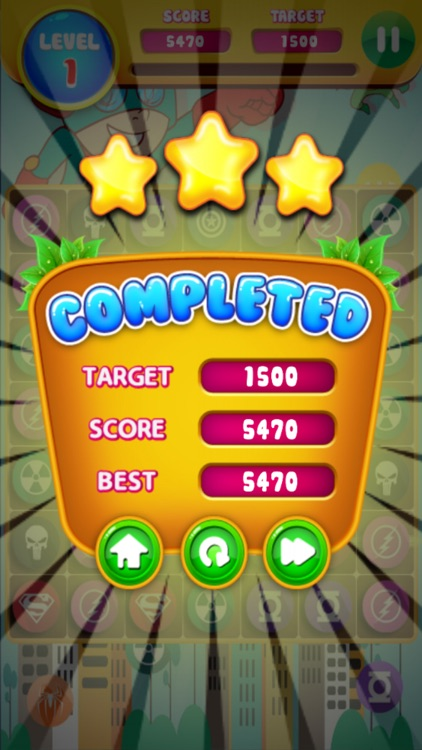 Baby Hero Epic in Big Candy Town Puzzle Games