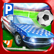 Soccer Stadium Sports Car & Bus Parking Simulator 3D Driving Sim