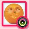 面白い食品顔移植カメラ - あなたやあなたの友人が漫画の果物や野菜になることができます
