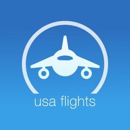 USA Flights for Alaska, American, Delta Flight Tracker & Air Radar