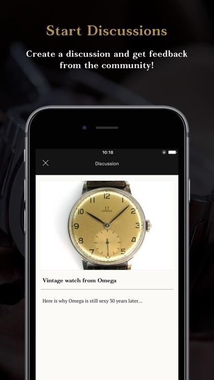 8past10 - The Watch Community! screenshot-4