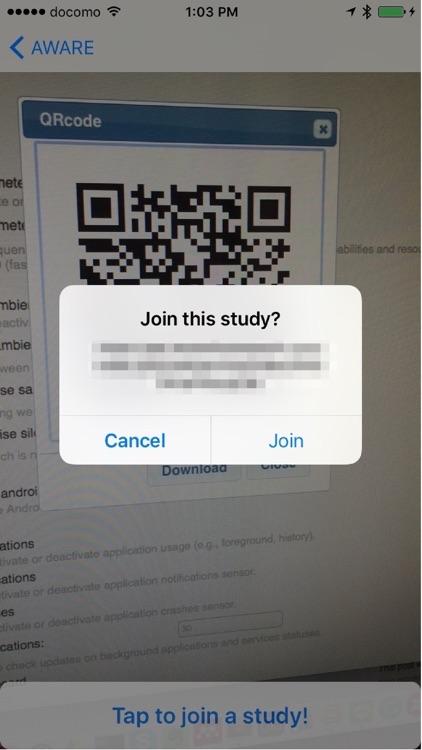 AWARE Client screenshot-3