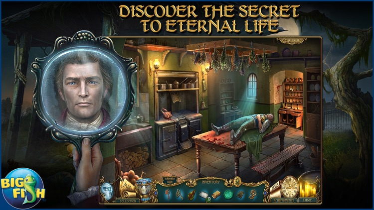 Haunted Legends: The Secret of Life - A Mystery Hidden Object Game (Full) screenshot-0