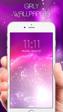 Colorful girly wallpapers pink backgrounds hd live pink themes iphone ipad voltagebd Image collections