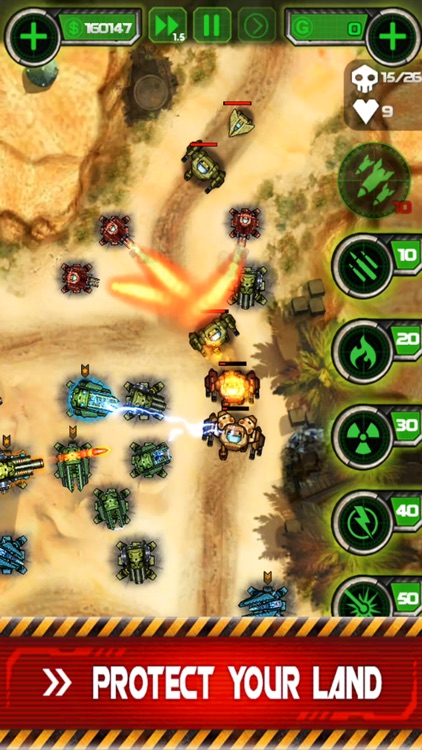 Tower Defense - Civil War screenshot-3
