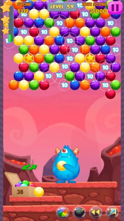 Bubble Shooter: Monster Quest